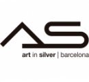 Logo Franquicia As Art In Silver